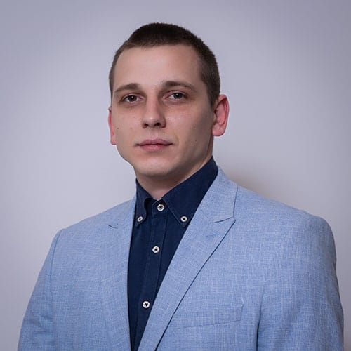 MILOS BANJANAC - office assistant